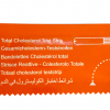 Cholesterol test strip